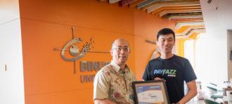 MoU CS Binus International with PayFazz