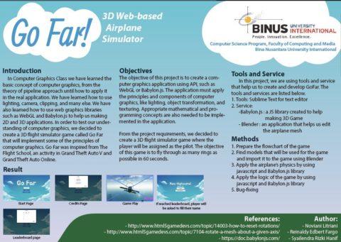 Go-Far: 3D Web-based Airplane Simulator