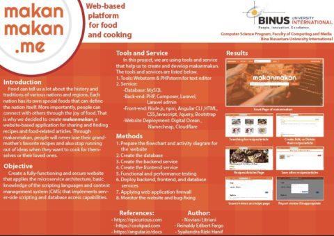 makanmakan.me : Web-based platform for food and cooking