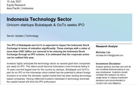 Unicorn Startups Bukalapak & GoTo Seeks IPO