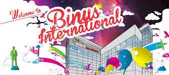 Welcome To BINUS INTERNATIONAL