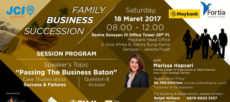JCI Seminar: Family Business Succession