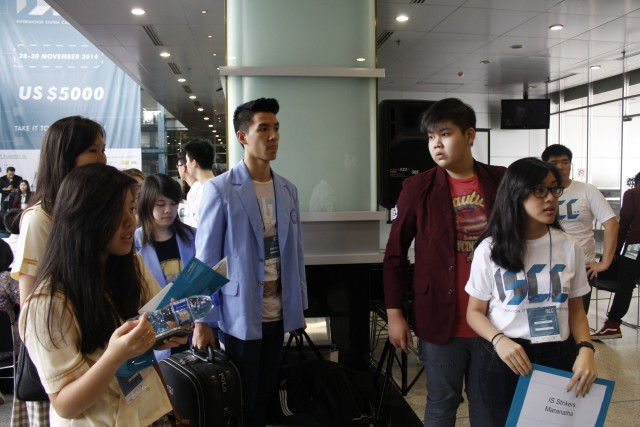 Welcome to ISCC 2014, Arrival at BINUS International, JWC campus, Jakarta