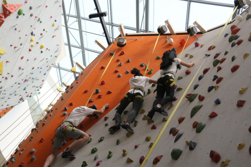 Climb Singapore IS Students