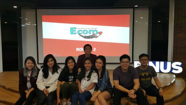 September 2016, Aan and Melvin adjudicating for E.Com 2016
