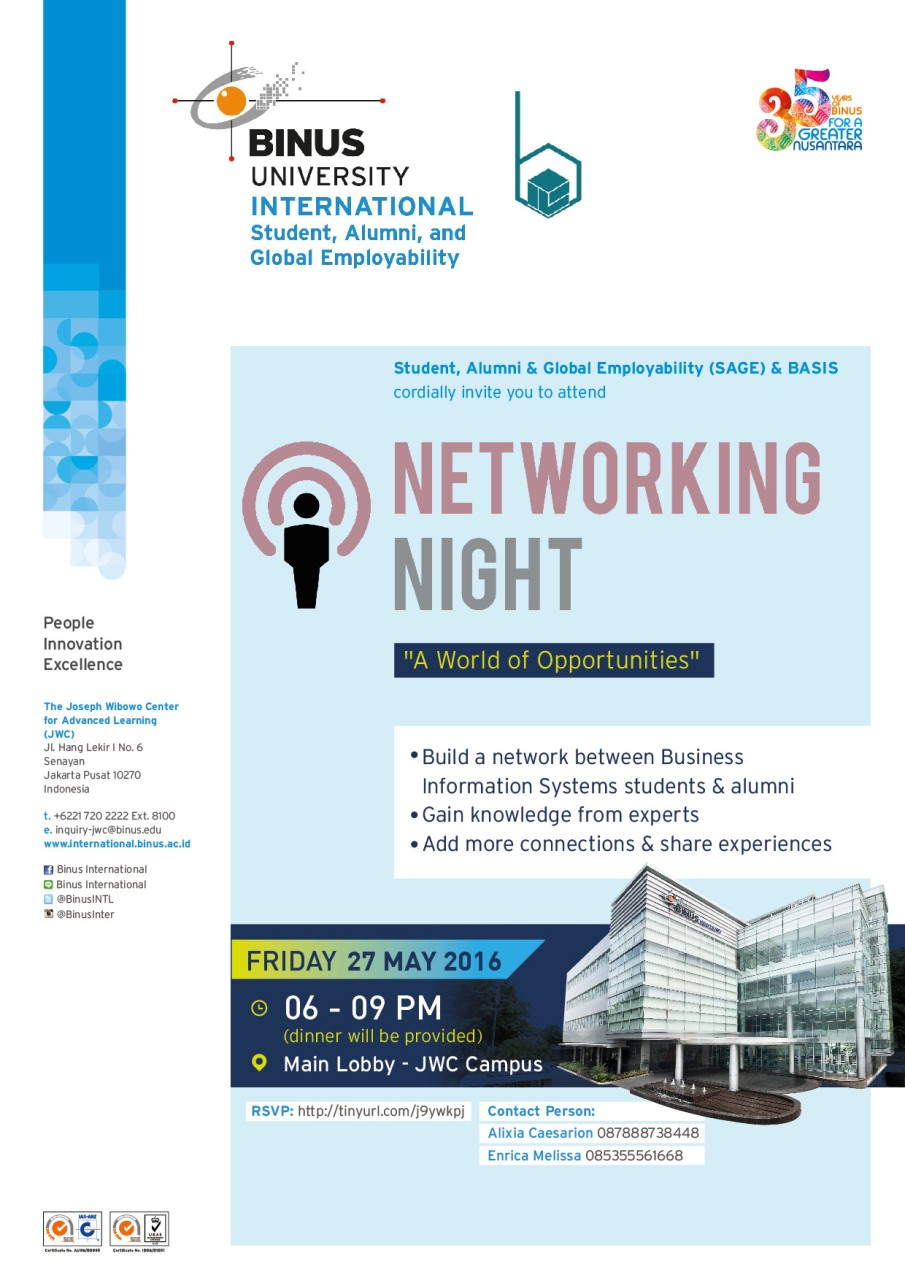 Networking Night E-flyer 01