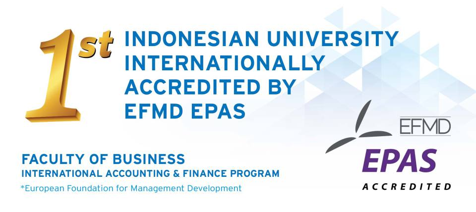 EPAS, International Accreditation which Opens Students' New Horizons in Global Level