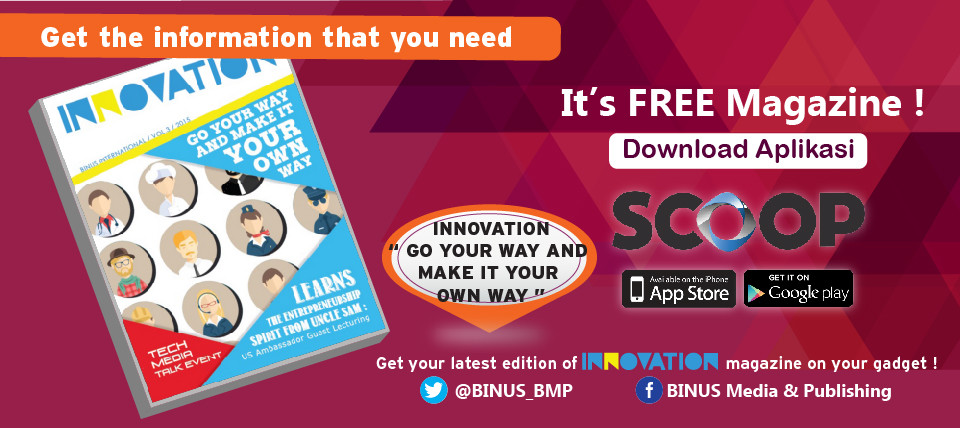 GOOD NEWS! INNOVATION MAGAZINE NOW AVAILABLE AT SCOOP!