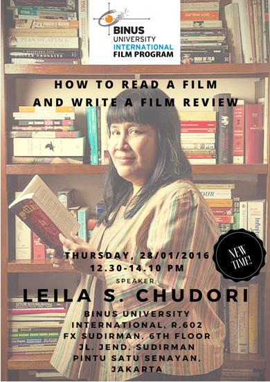 Leila S Chudori Seminar