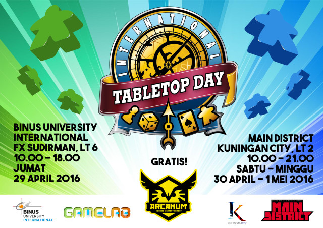 INT TABLETOP DAY 2016