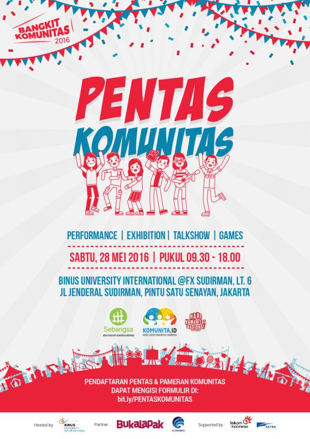Poster Pentas Komunitas