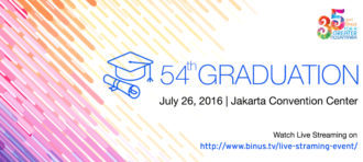 BINUS 54th Graduation