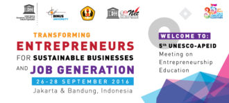 "The ""5th UNESCO-APEID Meeting on Entrepreneurship Education"""