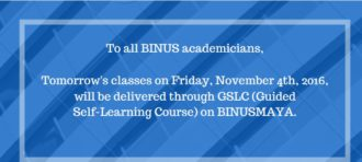BINUS INTERNATIONAL's Commitment in Developing BINUSIANs' Banking and Financial Soft Skills