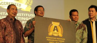 BINUS UNIVERSITY Received the Akreditasi Institusi (AIPT) Grade A from Badan Nasional Perguruan Tinggi (BAN-PT)