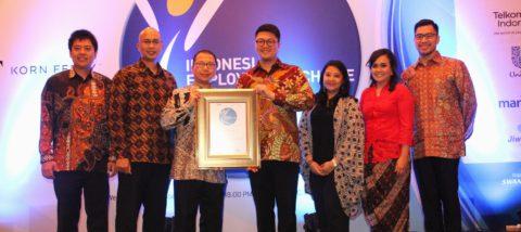 BINA NUSANTARA Wins Employers of Choice Award 2017