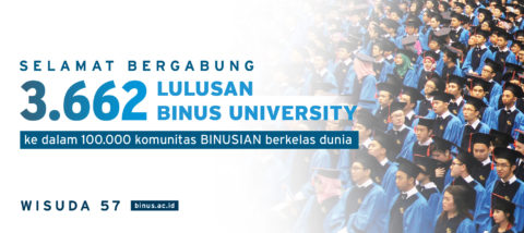 3,662 New Graduates from BINUS UNIVERSITY Ready to Advance the Nation