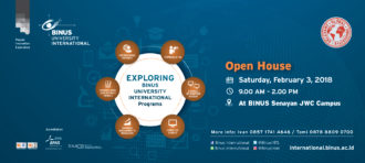 Open House BINUS UNIVERSITY INTERNATIONAL