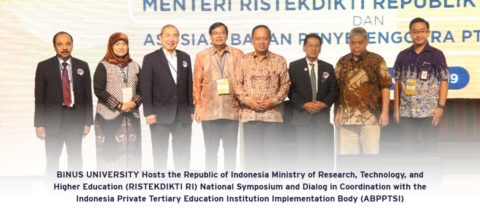 BINUS UNIVERSITY Hosts the Republic of Indonesia Ministry of Research, Technology, and Higher Education (RISTEKDIKTI RI) National Symposium and Dialog in Coordination with the Indonesia Private Tertiary Education Institution Implementation Body (ABPPTSI)