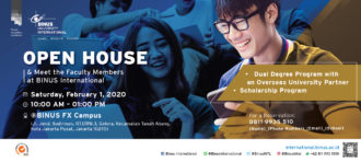 BINUS INTERNATIONAL Open House – 24 August 2019